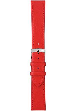 Morellato Bransoletka skórzana do zegarka unisex SPRINT czerwona 10 mm A01X2619875083CR10