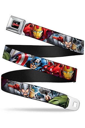 Buckle-Down Pas bezpieczeństwa - Marvel Avengers 4-superbohater pozuje C/U - 2,5 cm szerokości - 50-86 cm długości