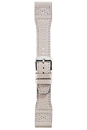 Morellato Unisex bransoletka do zegarka, kolekcja sportowa, mod. joga, ze skóry cielęcej miękka - A01X4615278 Taśma 22mm