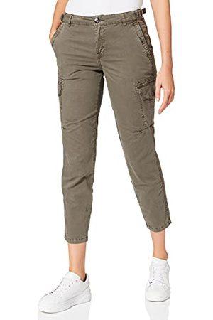 Timezone Damskie spodnie rekreacyjne, oliwkowy, 28W (Regularny)