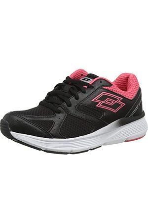 Lotto Damskie buty gimnastyczne Speedride 6 VII W, Nero E Rosa Corallo - 38 EU