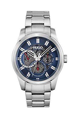 HUGO BOSS Męski analogowy zegarek kwarcowy z paskiem ze stali nierdzewnej 1530191