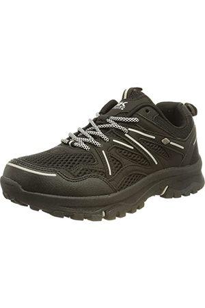 British Knights Damskie buty trekkingowe Thorn, Black Silver Black - 38 EU