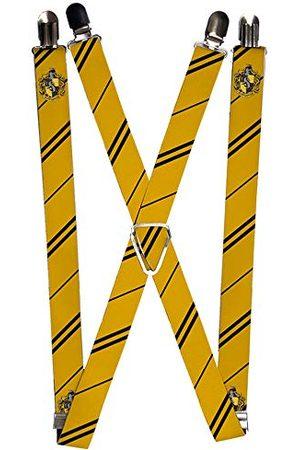 Buckle Down Nylonowe szelki - herb Hufflepuff/paski żółty/czarny