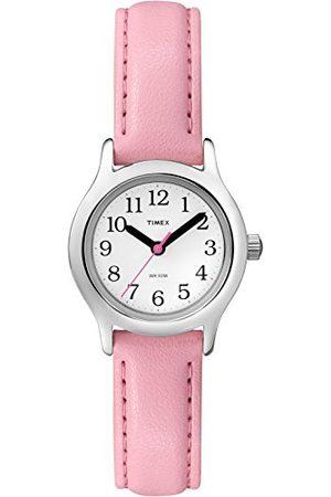 Timex Kid's T79081 zegarek kwarcowy z białą tarczą