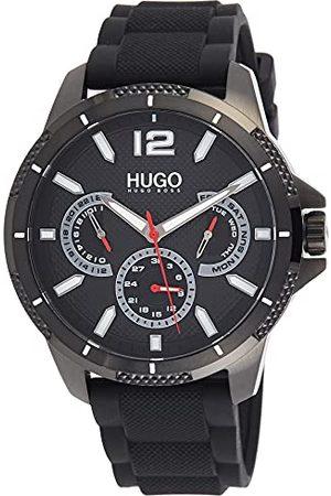 HUGO BOSS Męski analogowy zegarek kwarcowy z silikonowym paskiem 1530193