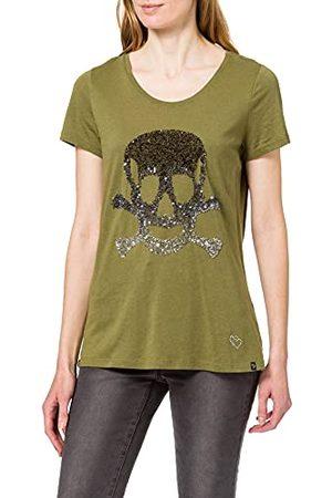 Key Largo Okrągły t-shirt damski, khaki (1505), XXL
