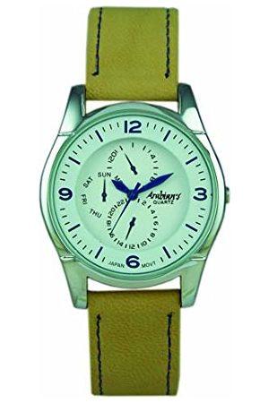 Arabians Męski analogowy zegarek kwarcowy ze skórzanym paskiem DBP227WM