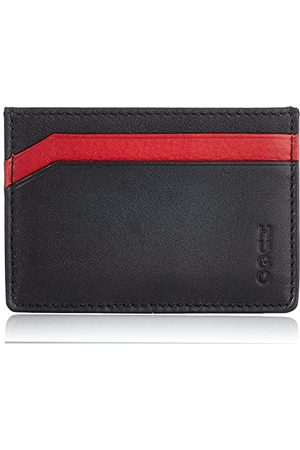 HUGO BOSS Męski subway RL_S Card akcesoria podróżne Bi-Fold-portfel, Black1, ONESI