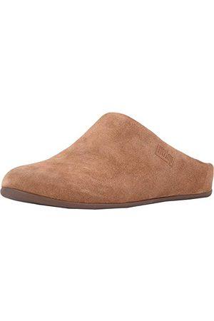 FitFlop Chrissie Shearling pantofle damskie, - Braun Tumbled Tan 645 - 39 EU