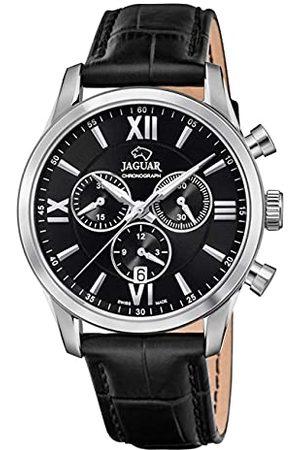 Jaguar J884/4 męski zegarek na rękę Acamar, 41,5 mm, czarna skórzana bransoletka