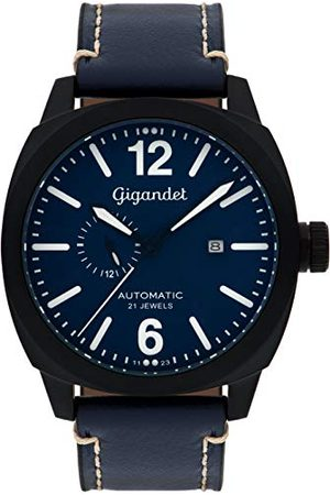 Gigandet Red Baron męski zegarek na rękę automatyczny analogowy ze skórzanym paskiem G16-005
