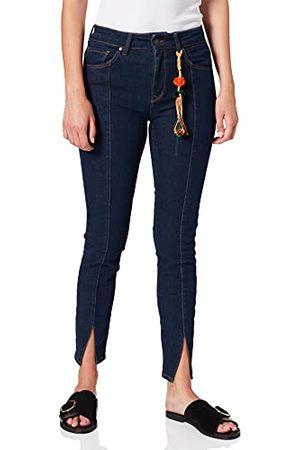 Mavi Damskie jeansy Tess Slit, (Dark Rinse Deco Denim 26399), 28W x 29L