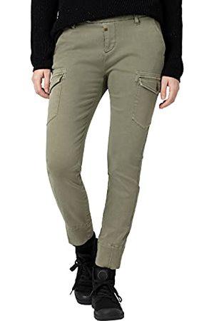 Timezone Damskie spodnie rekreacyjne, (Combat Green), 28W (Regularny)