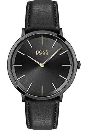 HUGO BOSS Męski zegarek analogowy kwarcowy 32014427 Pasek One Size