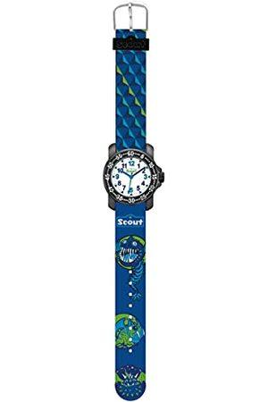 Scout Chłopcy analogowy zegarek kwarcowy z bransoletką tekstylną 280376015