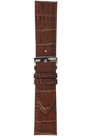 Morellato Bransoletka skórzana do zegarka unisex Bolle złotobrązowy 24 mm A01X2269480041CR24