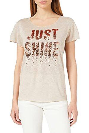 Key Largo Kobieta Bluzki - Damski T-shirt Milly Round, Sand, S