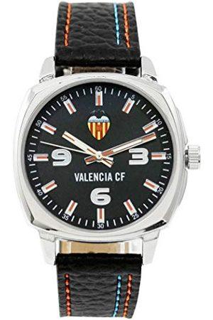 CF Valencia Zegarki - Valencia C.F. Unisex Dorośli Analogowy Cyfrowy automatyczny zegarek z bransoletką ze sztucznej skóry 89073