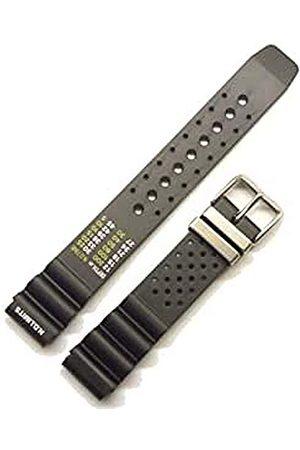 Morellato Paski - Rubber (kauczuk) pasek do nurkowania z otworami do zegarka unisex Bomber 18 mm A01U0359198019CR18
