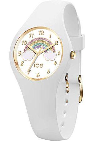 Ice-Watch ICE fantasia Rainbow white - zegarek z silikonowym paskiem Bardzo mały (28 mm) Extra small (28 mm)