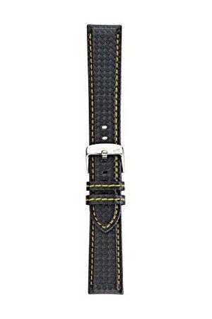 Morellato Męski zegarek na rękę, kolekcja sportowa, mod. Biking, ze skóry cielęcej - efekt włókna węglowego - A01U3586977 Taśma 20mm