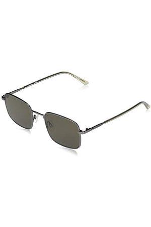 Calvin Klein EYEWEAR CK20318S-009 męskie okulary przeciwsłoneczne,, Satynowy Gunmetal/Crystal Beige, jeden rozmiar