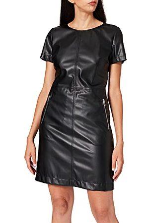 HUGO BOSS Kallena luźna sukienka biznesowa, (Black1), 38 PL