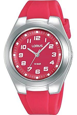 Lorus Unisex analogowy zegarek kwarcowy z silikonowym paskiem RRX81GX9