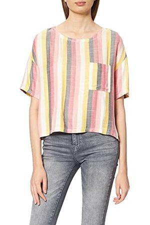 Hurley Damska koszula z tkanego boksu z kieszenią Wiele pasków S