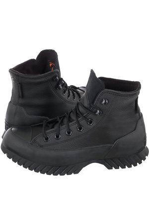 Converse Buty CT All Star Lugged Winter 2.0 Hi Black/Black/Bold Mandarin 171427C (CO496-a)