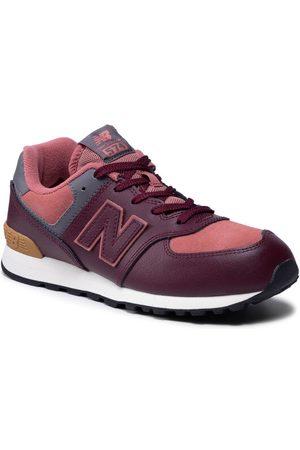 New Balance Sneakersy GC574PX1 Bordowy