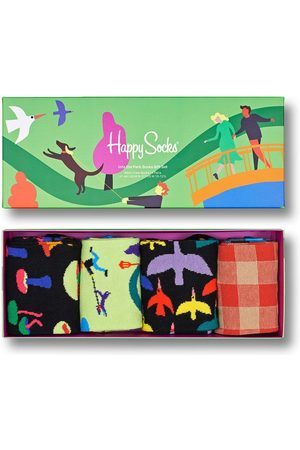 Happy Socks Skarpetki Into The Park Socks (4-Pack)