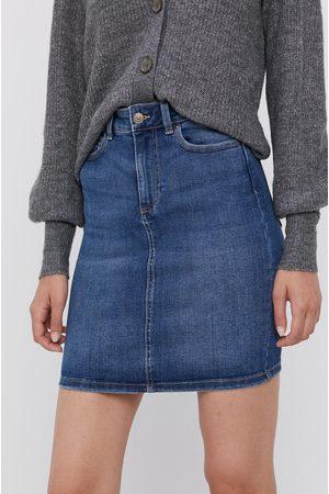 Pieces Kobieta Spódnice jeansowe - Spódnica jeansowa