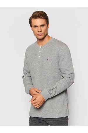 Tommy Hilfiger Sweter Casual Henley MW0MW20156 Relaxed Fit