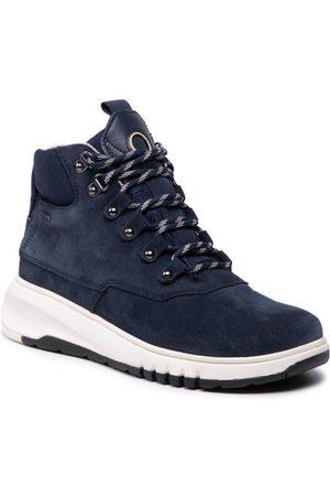 Geox Sneakersy D Aerantis 4x4 Abx A D04LAA 02214 C4002 Granatowy