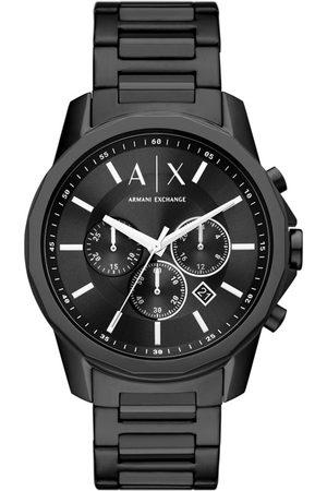 Armani Mężczyzna Zegarki - Zegarek - Banks AX1722 Black/Black