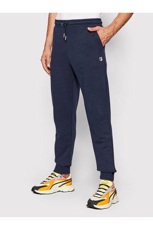 Fila Spodnie dresowe Savir 689037 Granatowy Regular Fit