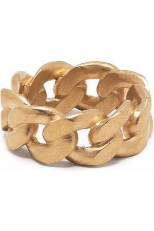 Maison Margiela Mężczyzna Pierścionki - Chain -plated sterling silver ring