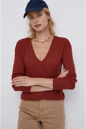 VILA Sweter z domieszką wełny