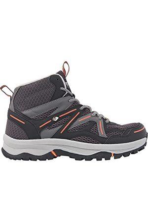 British Knights Damskie buty trekkingowe Thorn Mid, Dk Grey Black Neon Orange - 40 EU