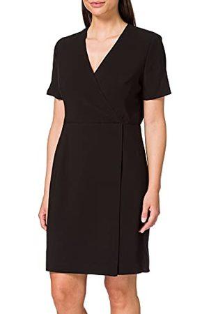 French Connection Damska sukienka Whisper Ruth, (Black 1), 40 PL (Producent rozmiar : 14)