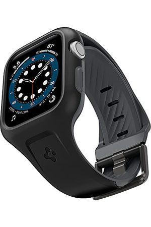 Spigen Liquid Air Pro etui z bransoletką, kompatybilne z Apple Watch serii 7 41mm 6 SE 5 4 40mm - czarne
