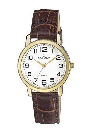 Radiant Męski analogowy zegarek kwarcowy ze skórzanym paskiem RA281608