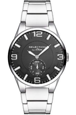 s.Oliver Męski zegarek kwarcowy SO-2655-MQ z metalowym paskiem