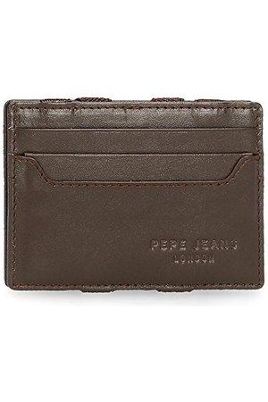 Pepe Jeans Ciemny pionowy portfel, , 9,5x6,5x1 cms, Portfel Pepe