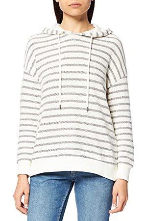 LTB Damski sweter Yibepa, Off White Black Stripes 1400, XL