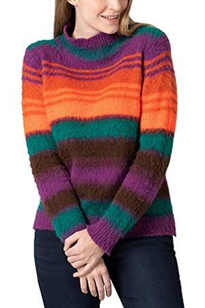 Timezone Sweter damski Mockneck Stripe