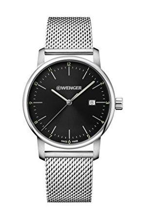 Wenger Unisex zegarek dla dorosłych analogowy kwarcowy stal szlachetna 01.1741.114