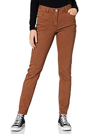 CECIL Spodnie damskie, Toffee Brown, 29W x 32L